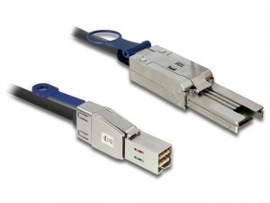 Delock Kabel mini SAS HD SFF-8644 -> SFF-8088 M/M 2m