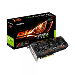 Gigabyte GeForce GTX 1070 8GB DDR5 256BIT 2DVI/HDMI/3DP [sl]