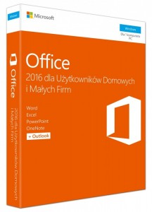 Microsoft Office 2016 Home & Business PL Win 32-bit/x64  [SL]