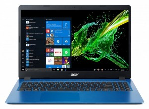 "NOTEBOOK ACER ASPIRE 3 NX.HFYEP.001 BLUE15,6""/I3-7020U/4GB/256GB-SSD/W10[SL]"