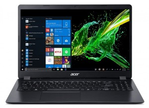 "NOTEBOOK ACER ASPIRE 3 NX.HEEEP.003 BLACK 15,6""/I3-7020U/4GB/256GB-SSD/W10[SL]"
