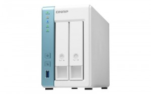QNAP Serwer NAS TS-231K 2-bay AL214 Quad Core 1,7Ghz, 1GB RAM, SATA 6Gb/s
