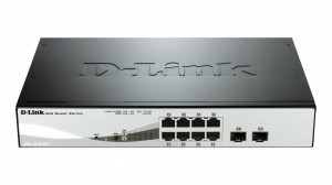 D-Link DGS-1210-08P 8port Gbit PoE Smart Switch