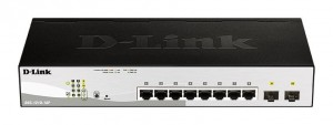 D-Link DGS-1210-10P 10port Gbit PoE Smart Switch