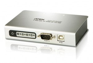 ATEN 4-Portowy koncentrator USB to RS-232 Hub UC2324-AT