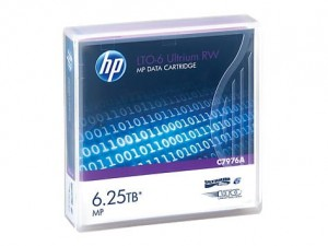 Hewlett Packard Enterprise LTO-6 Ultrium 6.25TB MP RW Data Cartridge C7976A