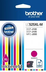 Brother Tusz LC525XLM MAG 1300 do DCP-J100 DCP-J105
