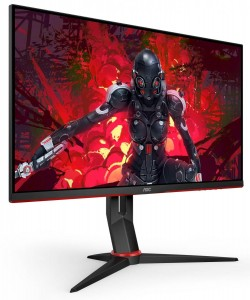 "Monitor dla graczy AOC 27"" 27G2U/BK IPS 144Hz 1ms DP HDMI Pivot [sl]"